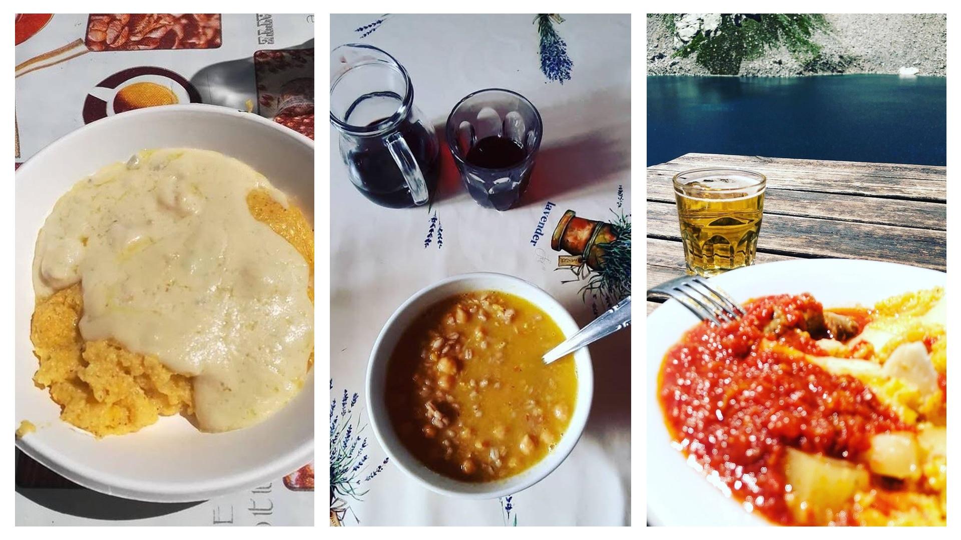 rifugio emilio questa - enjoy your meal